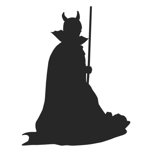 Witch costume children silhouette Transparent PNG
