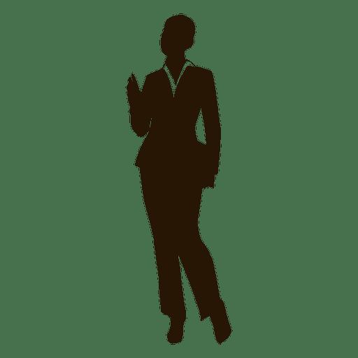 Woman executive standing Transparent PNG