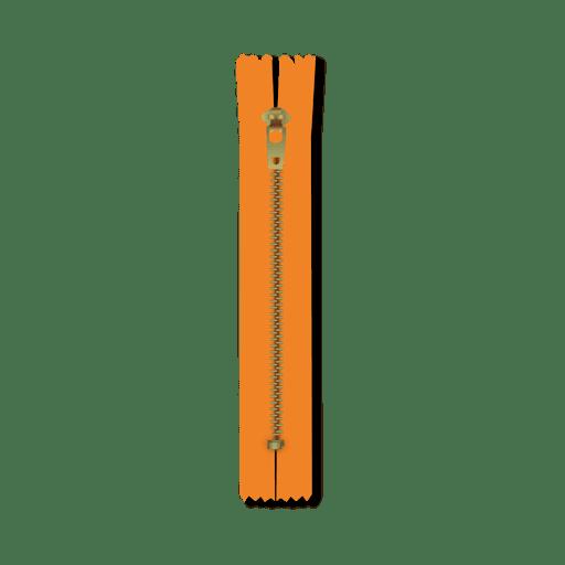 Yellow zipper Transparent PNG