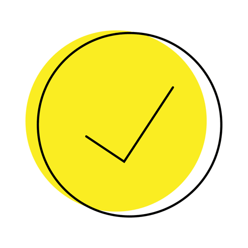 Yes check button icon Transparent PNG
