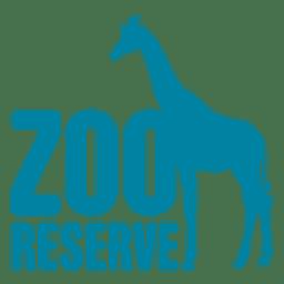 Logotipo da reserva do jardim zoológico