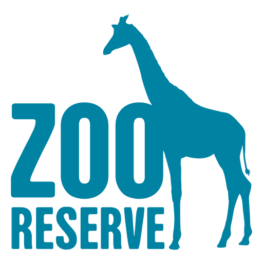 Zoo reserve logo Transparent PNG