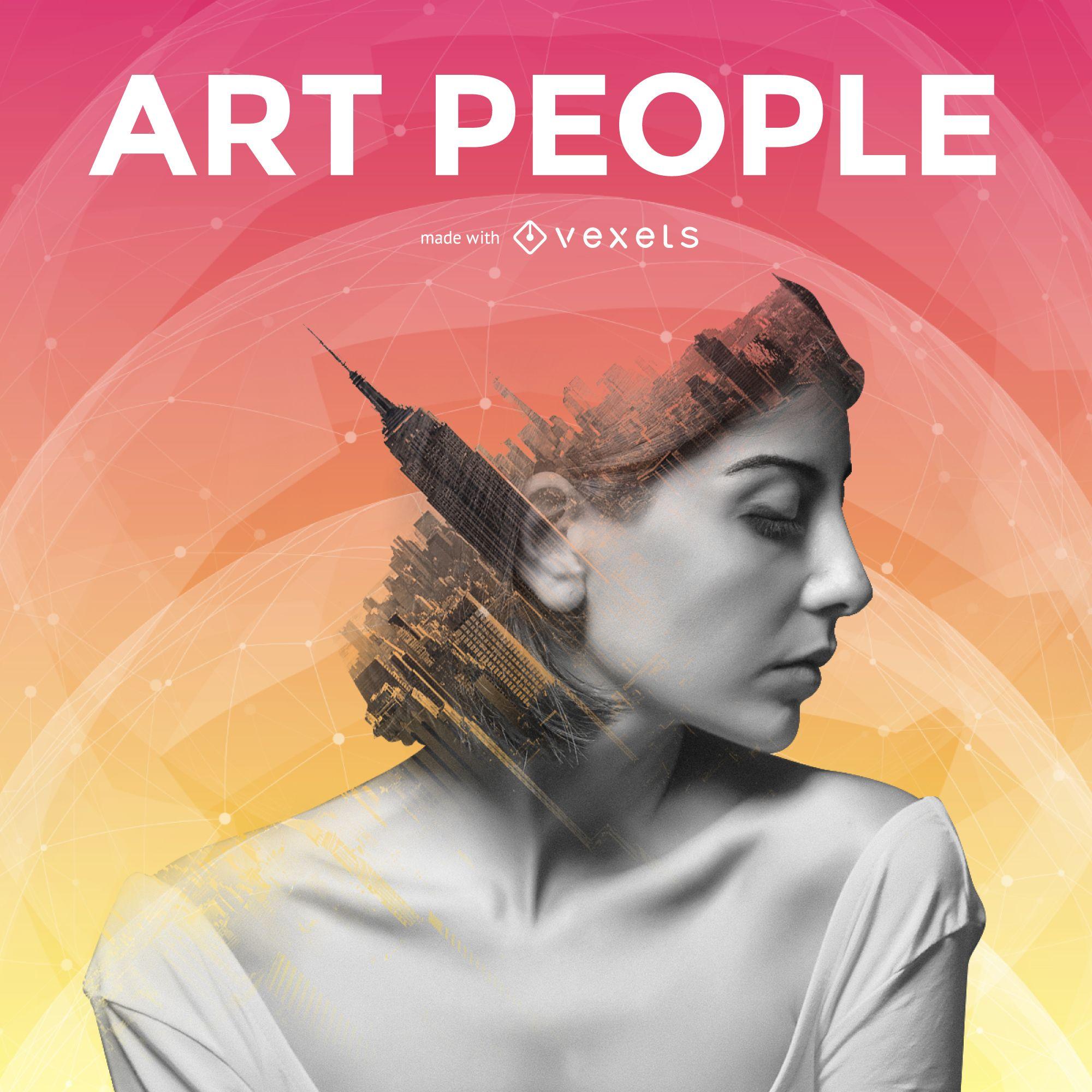 Artistic poster generator
