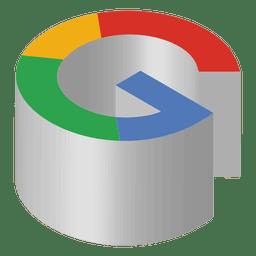 Ícone isométrico do Google