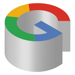 Icono isometrico de google