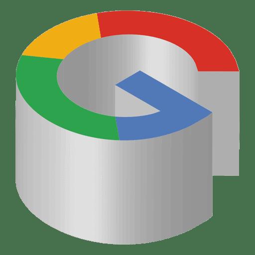 Icono isometrico de google Transparent PNG