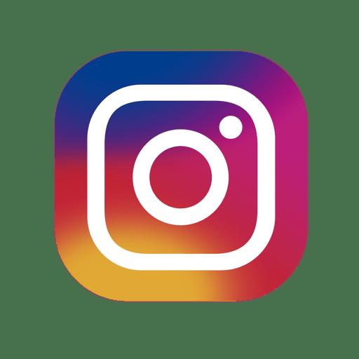 Instagram-Symbol bunt