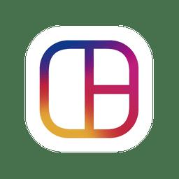 Instagram logotipo de la silueta