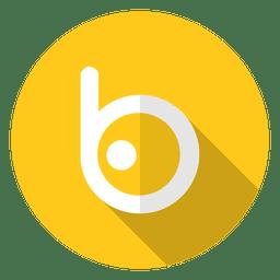 Logo del icono de badoo