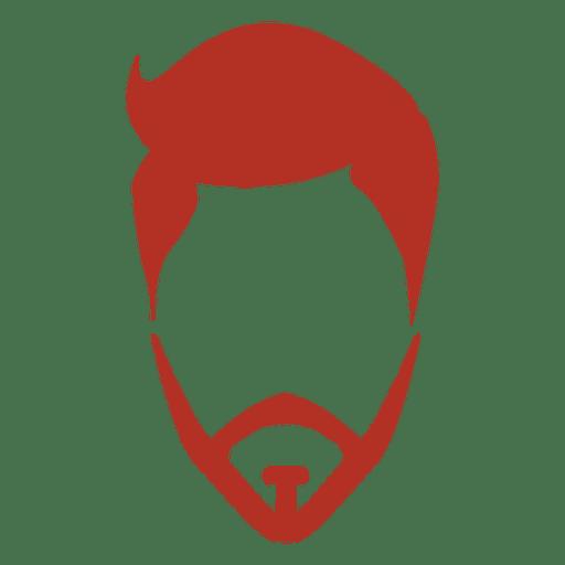 Beard hipster man Transparent PNG