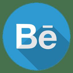 Logo de icono de Behance