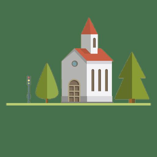 Building city church Transparent PNG