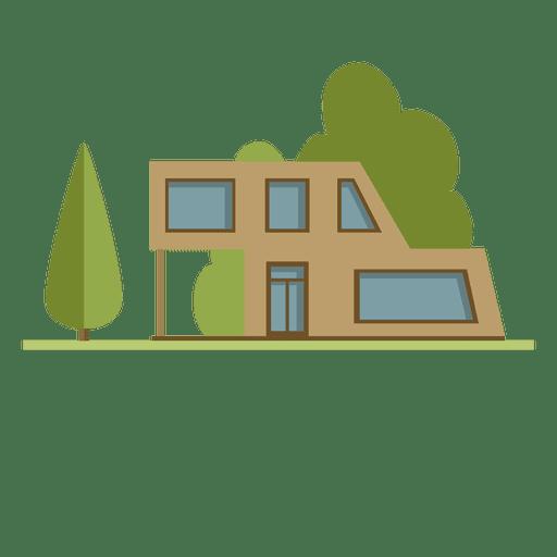 Flat Building City Neighborhood House Transparent PNG