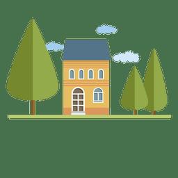 Construindo a arquitetura da casa da cidade