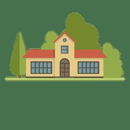 Casa da cidade de construção