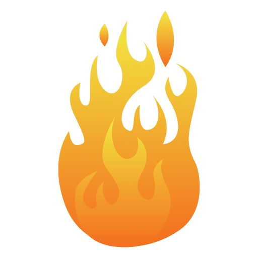 Cartoon fire illustration Transparent PNG