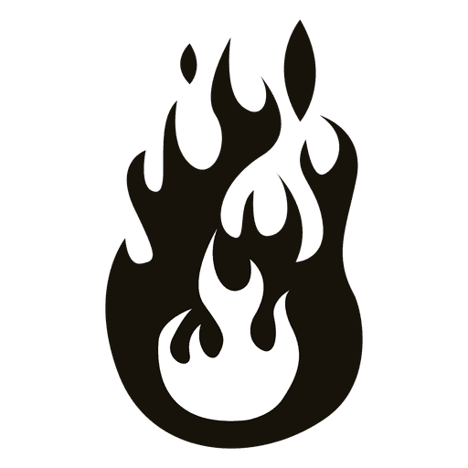 Conhecido ilustração do incêndio dos desenhos animados preto branco - Baixar  MT23