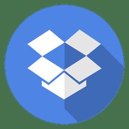 Icono de Dropbox logo