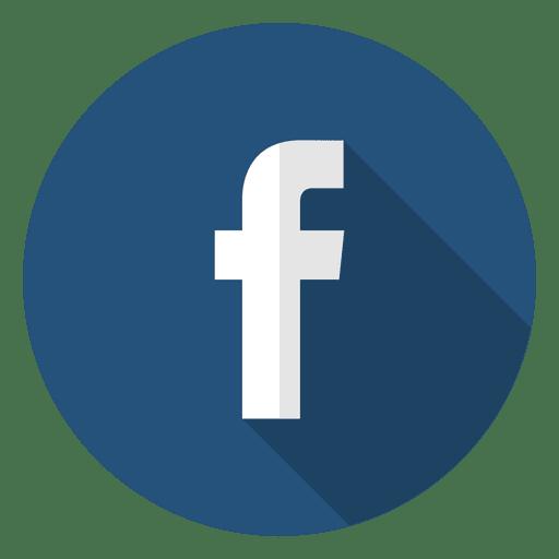 Resultado de imagem para icone do facebook com fundo transparente