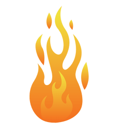 Fire cartoon flame illustration