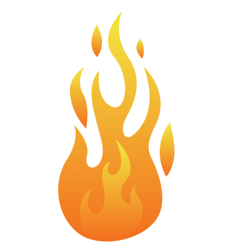 Fire cartoon flame illustration Transparent PNG