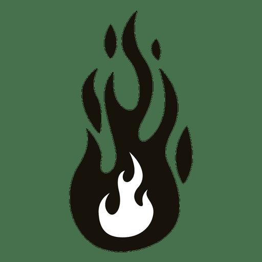 Fuego dibujos animados llama ilustración negro blanco Transparent PNG