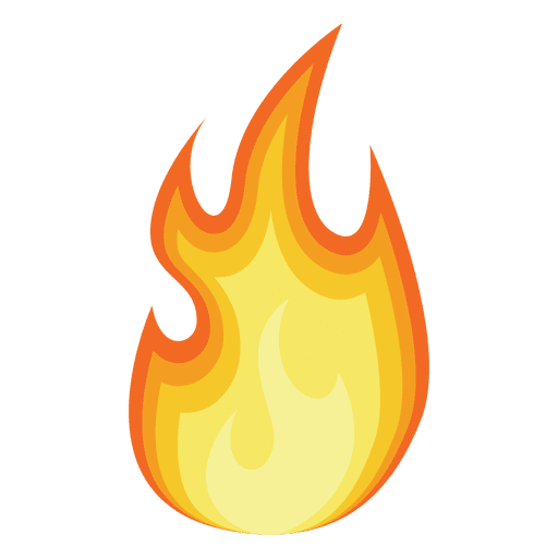 fire cartoon silhouette transparent png svg vector rh vexels com cartoon flames images cartoon flame png