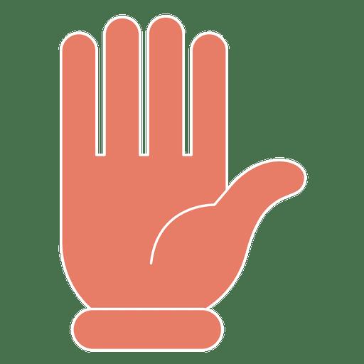 Mão Olá gesto gesto dedos fino Transparent PNG