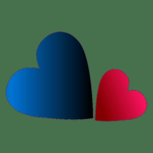 Logotipo do coração Transparent PNG