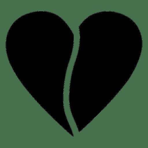 Heart Logo Half Transparent Png Svg Vector