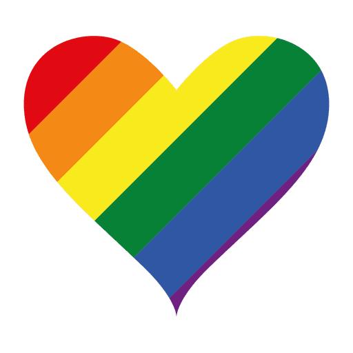 lgbt logotipo del coraz u00f3n descargar png  svg transparente gay pride colors in order gay pride colors in order