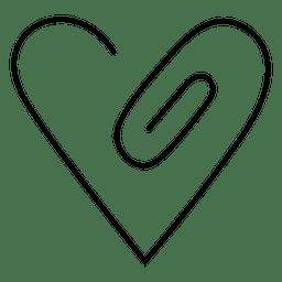 Heart logo linear