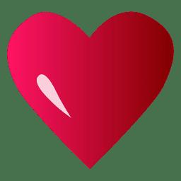 Logo corazon rosa
