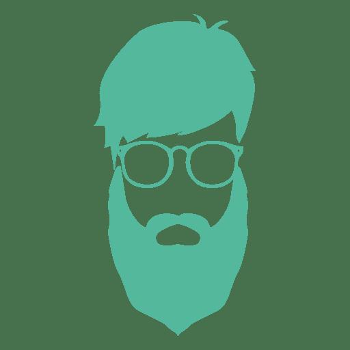 homem da barba do moderno Transparent PNG