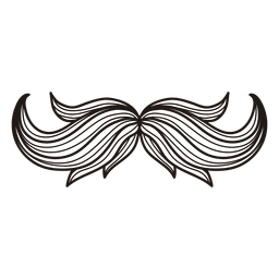 Hipster-Schnurrbart-Illustration