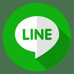 icono insignia línea