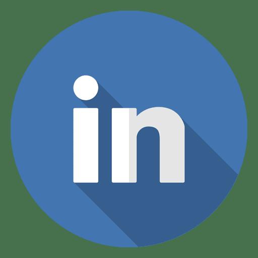 Logotipo del icono de Linkedin