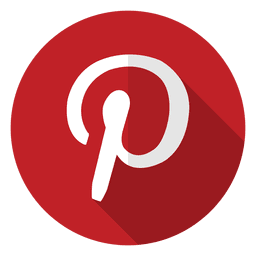 Logotipo del icono de Pinterest