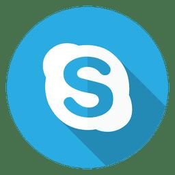 icono del logotipo de Skype