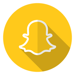Logotipo do ícone do Snapchat