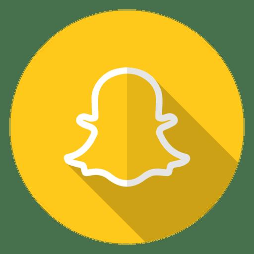 Logotipo del icono de Snapchat Transparent PNG