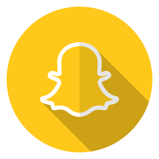 Logotipo del icono de Snapchat