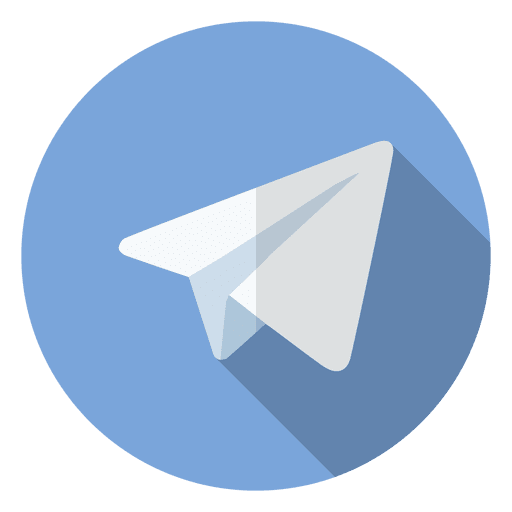 Telegram icon logo Transparent PNG
