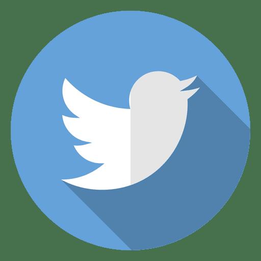 Logotipo do ícone do Twitter