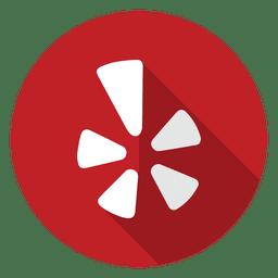 Yelp icono del logotipo