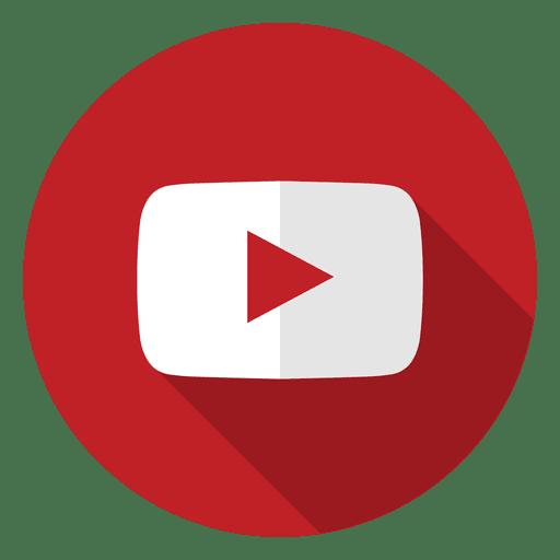 Logotipo do ícone do Youtube