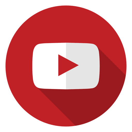 Youtube icon logo Transparent PNG
