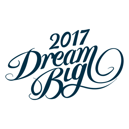 2017 New Year Dreams Transparent PNG