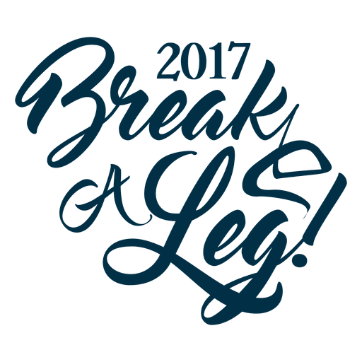 2017 new year greetings badge Transparent PNG