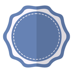 Cinta de etiqueta de placa delicada azul